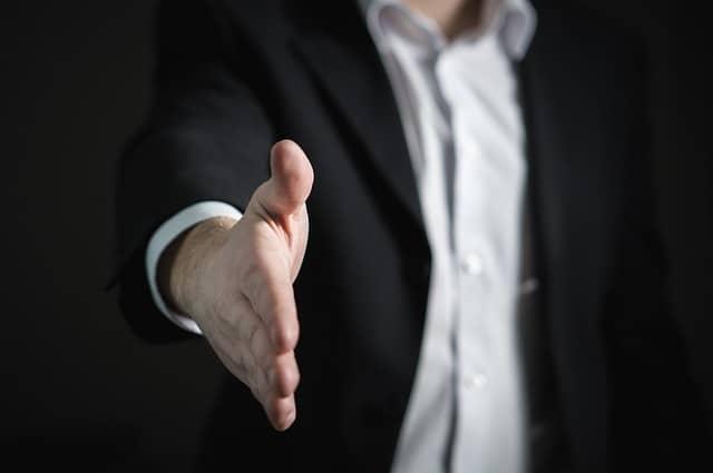 sales, handshake